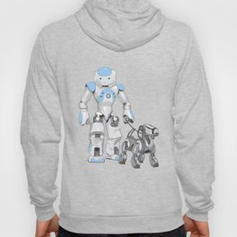 The Dog Walker. (Blue) Hoody