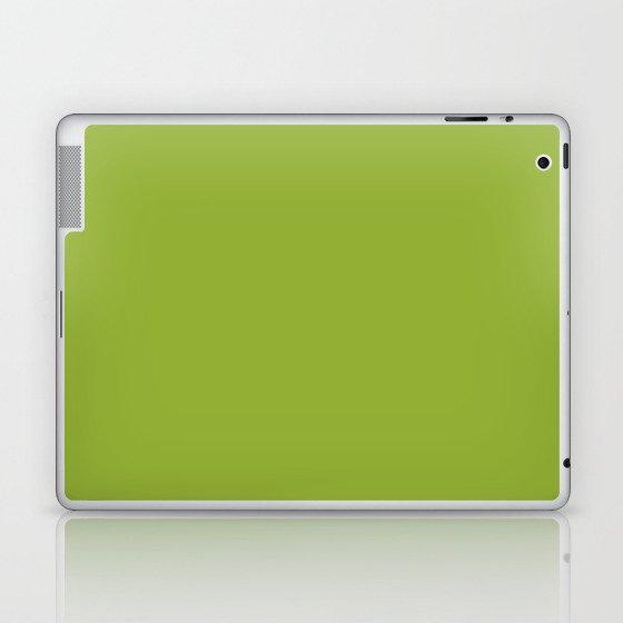 Stowaway ~ Fern Green Laptop & iPad Skin