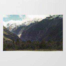 (Franz Josef Glacier) Where the snow melts Rug