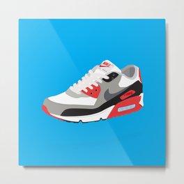 Nike AirMax 90 OG Infrared Metal Print
