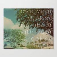 looking for alaska Canvas Prints featuring Looking For Alaska by Kafkaesque
