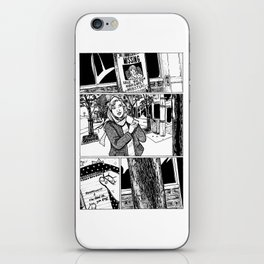 Johnny Public chapter 10, page 24 iPhone Skin