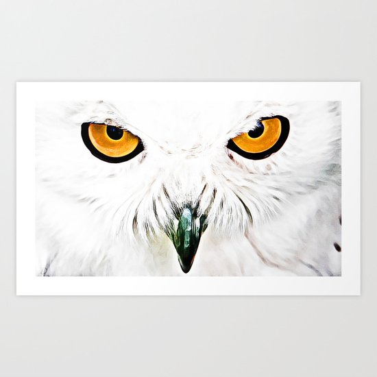 What You Looking At? Art Print
