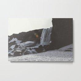 Sparkling Waterfall Metal Print