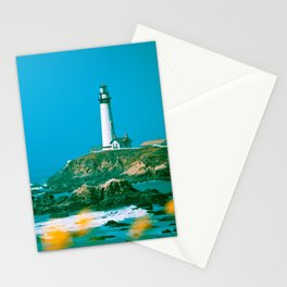Pacific Coast Highway Lighthouse Stationery Cards