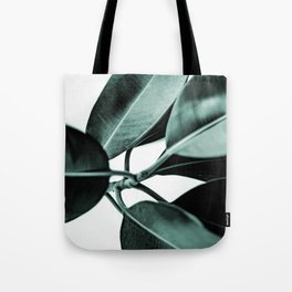 Minimal Rubber Plant Tote Bag