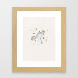 Sad Pony Framed Art Print