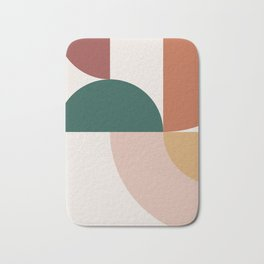 Abstract Geometric 12 Bath Mat