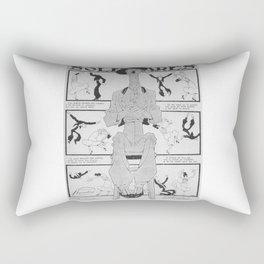 nit flamenca Rectangular Pillow