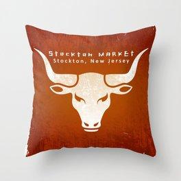 Stockton Market T Throw Pillow