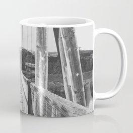 Black and White Bridge - Kauai, Hawaii Coffee Mug