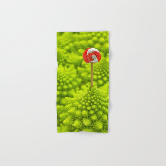 Romanesco Lollipop Hand & Bath Towel