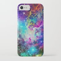nebula iPhone & iPod Cases featuring Fox Nebula by Starstuff
