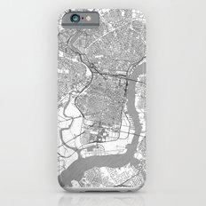 Philadelphia Map Line Slim Case iPhone 6s