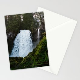 Sahalie Waterfall Oregon Stationery Cards