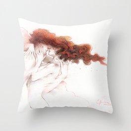 Fire&Gasoline II Throw Pillow