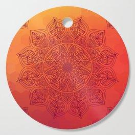 Sun Mandala Cutting Board