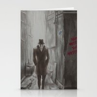 rorschach Stationery Cards featuring Rorschach by JadeJonesArt