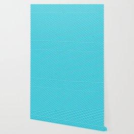 Blue Cube Tiles Wallpaper