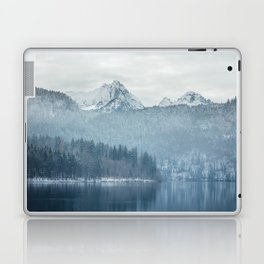 Lake and mountains - Bavarian Alps Laptop & iPad Skin
