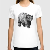 fitzgerald T-shirts featuring Bear Square by Emma Fitzgerald