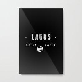 Lagos Metal Print