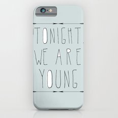 We Are Young (grey & black version) iPhone 6s Slim Case