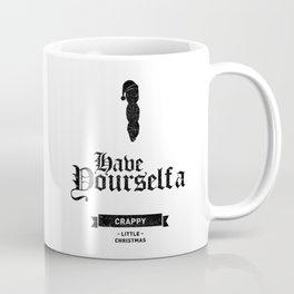 Mr. Hankey Christmas Wish Black Text Coffee Mug