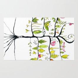 Árbol de primavera Rug