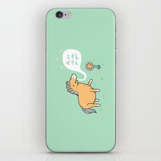 My poo will help you grow! iPhone & iPod Skin