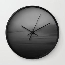 The Morning Fog Wall Clock