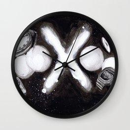 """Alternate History X"" by Cap Blackard Wall Clock"