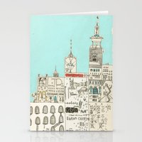 toronto Stationery Cards featuring Toronto by Nayoun Kim