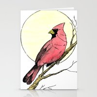 cardinal Stationery Cards featuring Cardinal by Eric Weiand