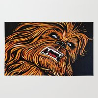 chewbacca Area & Throw Rugs featuring Chewbacca by Laura-A