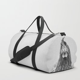 Chicken - Black & White Duffle Bag