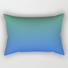 RESTING STATE - Minimal Plain Soft Mood Color Blend Prints Rectangular Pillow