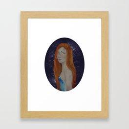 BTATO_Sad Girl Framed Art Print