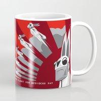 propaganda Mugs featuring The Drove Propaganda  by The Drove