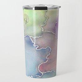 Soft Cracks  Travel Mug