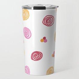 Swirly Dots Travel Mug