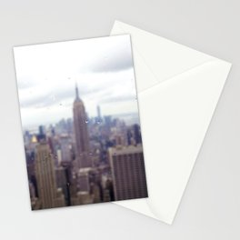 Bugs and Raindrops, Manhattan Skyline Stationery Cards