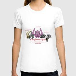 Evil Helmets-R-Us T-shirt