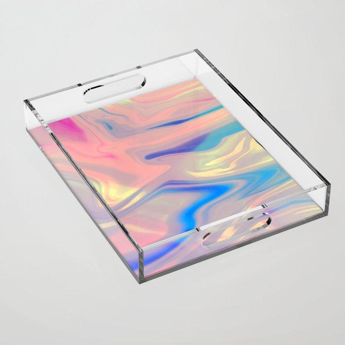 Holographic Dreams Acrylic Tray