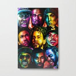 New rap Metal Print