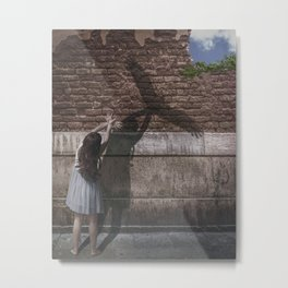 One Day I'll Fly Away Metal Print