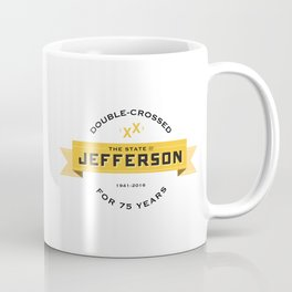 State of Jefferson 75th Anniversary Logo Coffee Mug