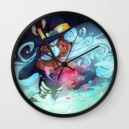 Heart's Witch Wall Clock