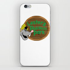 Who's your favorite possum? iPhone & iPod Skin