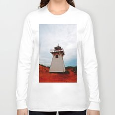 Lighthouse on Red Sands Long Sleeve T-shirt